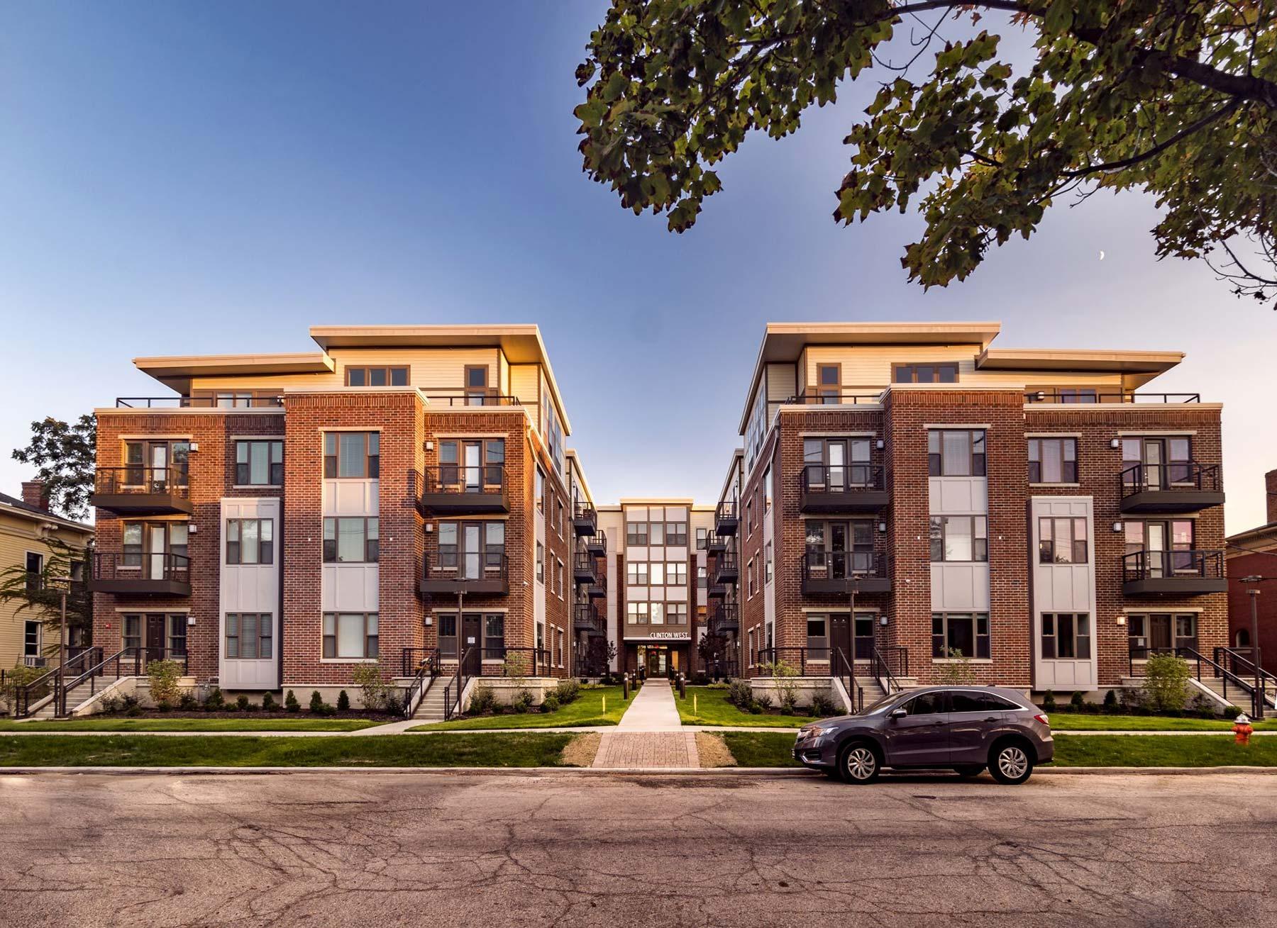 Luxury Ohio City Apartments | Clinton West Ohio City